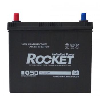 Rocket SMF +50 75B24R 12V 55Ah п/п