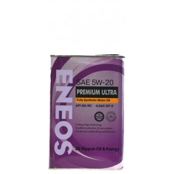 Eneos 5w-20 Premium Ultra CG-5 1 литр жесть