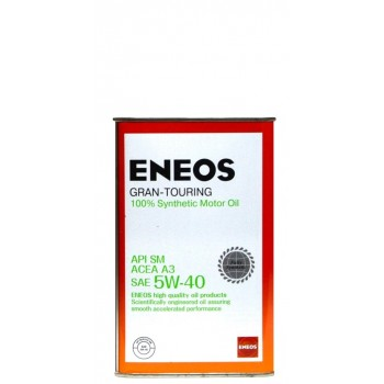 Eneos 5w-40 SM 1 литр жесть