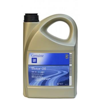 GM Genuine 5w-30 C3 SNCF 4 литра
