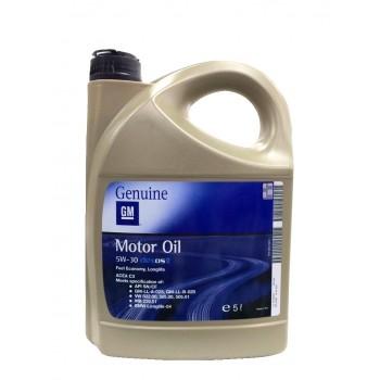 GM Genuine 5w-30 C3 SN/CF 5 литров