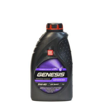 Лукойл Genesis Advanced 5w-40 1 литр