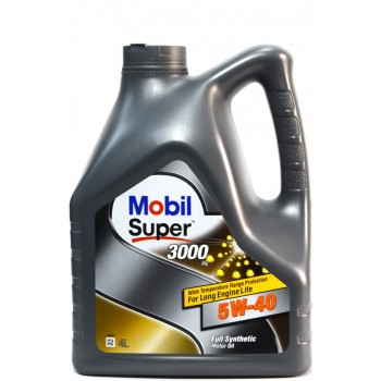 Mobil super 3000 5w-40 4 литра