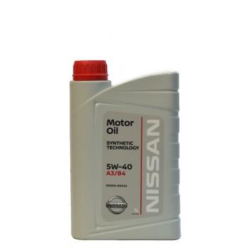Nissan 5w-40 A3-B4 1 литр