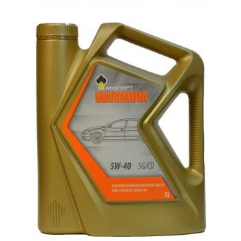Rosneft MAXIMUM 5w-40 5 литров
