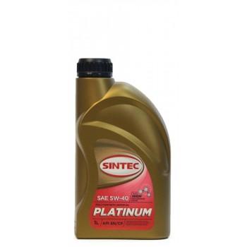 Sintec PLATINUM 5w-40  SN-CF 1 литр