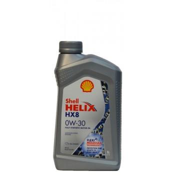 Shell Helix HX8 0w-30 1 литр