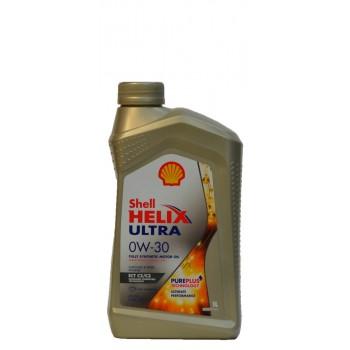 Shell Helix Ultra 0w-30 1 литр
