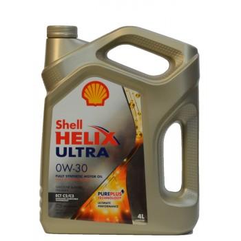 Shell Helix Ultra 0w-30 4 литра