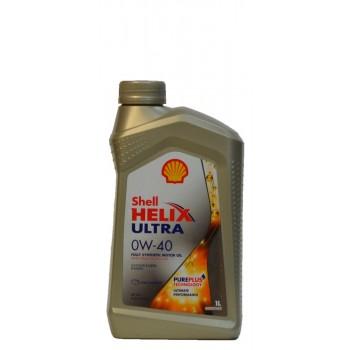 Shell Helix Ultra 0w-40 1 литр