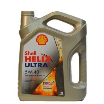 Shell Helix Ultra 5w-40 4 литра