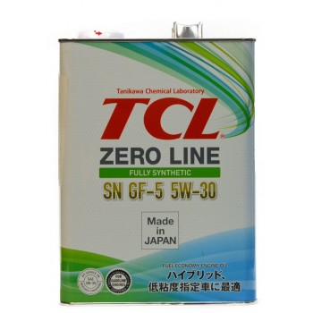 TCL zero line 5w-30 SN GF-5 4 литра
