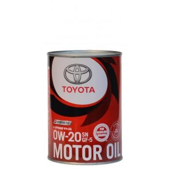 Toyota 0w-20 SN GF-5 1 литр жесть