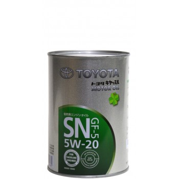 Toyota 5w-20 SN GF-5 1 литр жесть