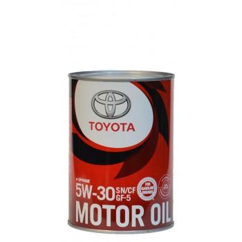 Toyota 5w-30 SN GF-5 1 литр жесть