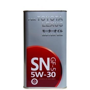 Toyota Lexus (Fanfaro) 5w-30 GF-5 4 литра жесть