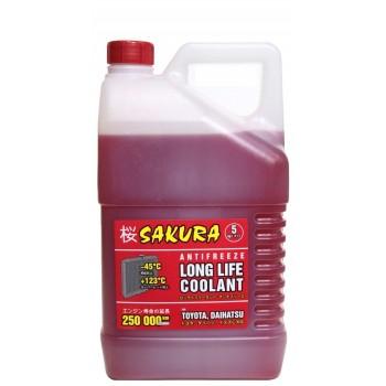 Антифриз Sakura Red 5kg