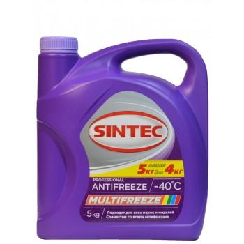 Антифриз Sintec Multifreeze 5 кг