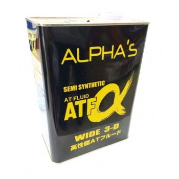 ALPHA'S ATF Semi Synthetic Wide 3-D 4 литра