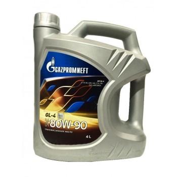 GAZPROMNEFT 80w-90 GL4 4 литра