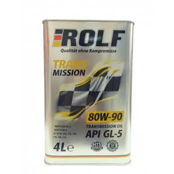 ROLF TM 80w-90 GL5 4 литра