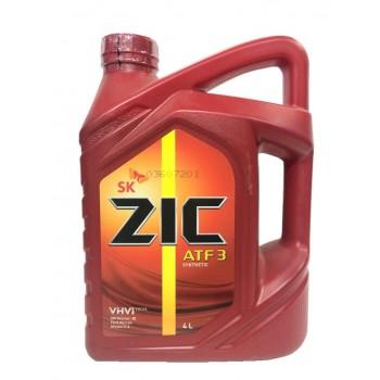 ZIC ATF 3 4 литра