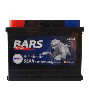 BARS Silver 55Ah 12V 480A п/п