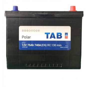 TAB 12V 75Ah 740A(EN) RC 130min