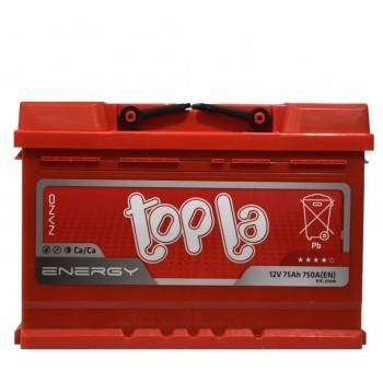 Topla Energy 12V 75Ah 750A(EN) о/п