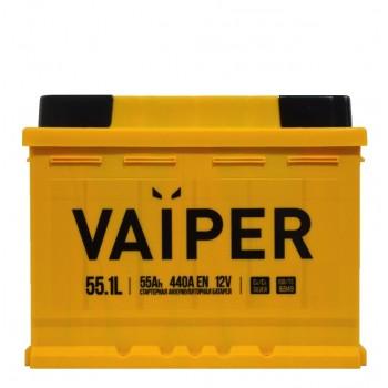Vaiper 55.1L 55Ah 440A(EN) 12V п/п