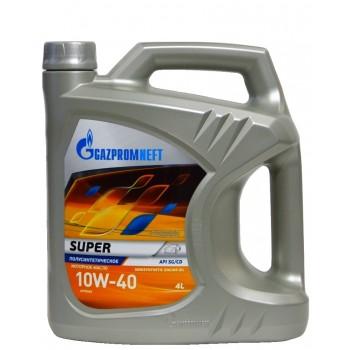 Gazpromneft 10w-40 Super 4 литра