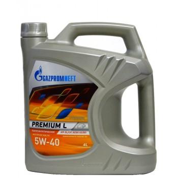 Gazpromneft 5w-40 Premium L 4 литра
