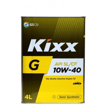 Kixx G 10w-40 4 литра жесть