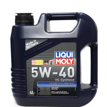 LiquiMoly  Optimal Synth 5w-40 4 литра