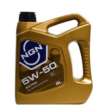 NGN Extra 5w-50 4 литра