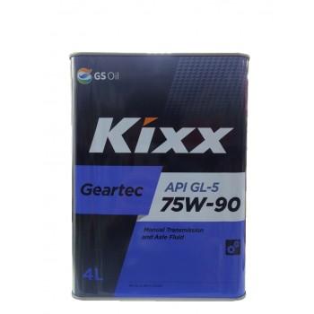 KIXX Geartec GL5 75w-90 4 литра