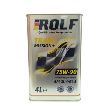 ROLF TM+ 75w-90 GL4-GL5  4 литра